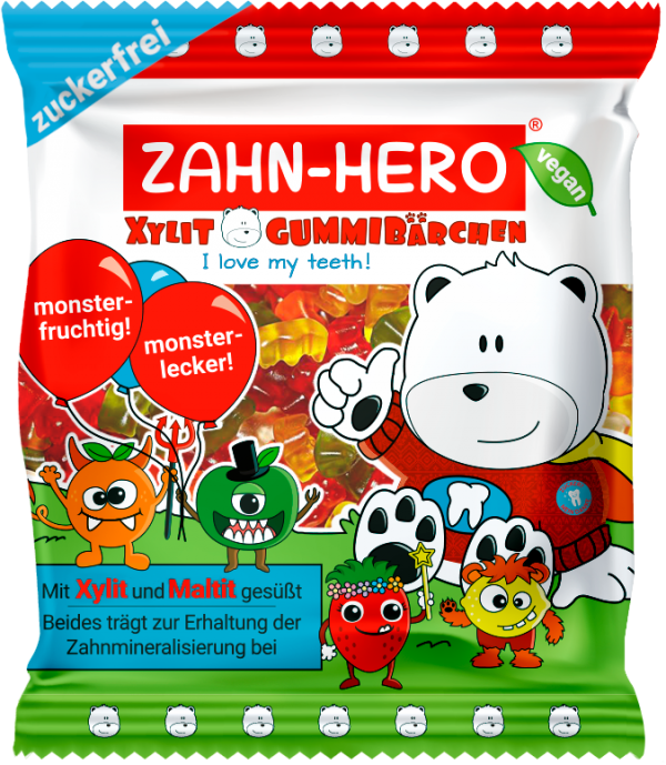 ZAHN-HERO® XYLIT-GUMMIBÄRCHEN